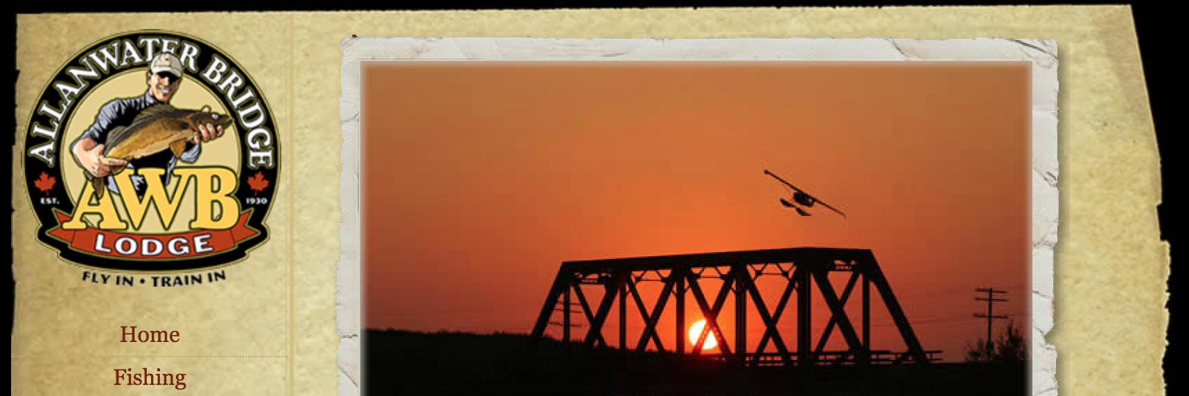 Allanwater Bridge Lodge header