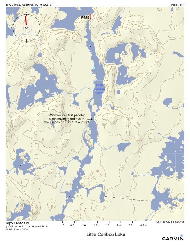 Little Caribou Lake to take-out spot