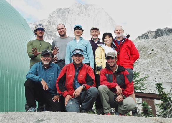 Bugaboos climbing team