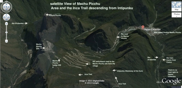 Machu Picchu Satellite View