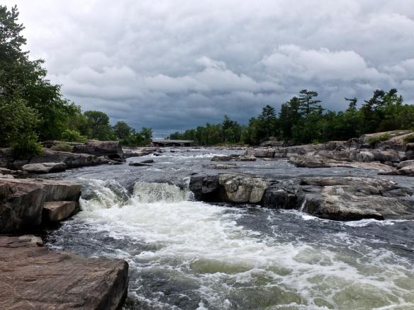 Burleigh Falls below the bridge