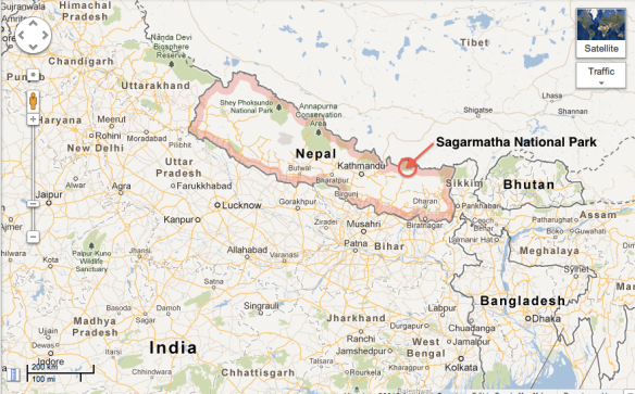 how to get to namche bazaar from kathmandu