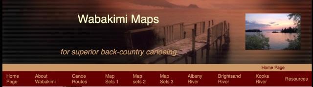 Wabakimi Maps