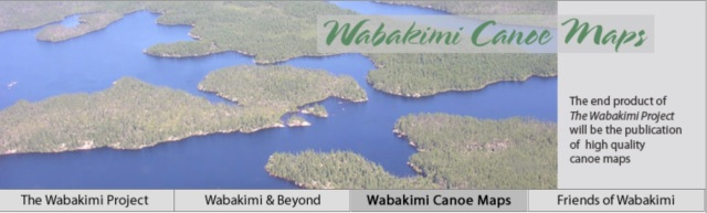 Wabakimi Project Route Maps