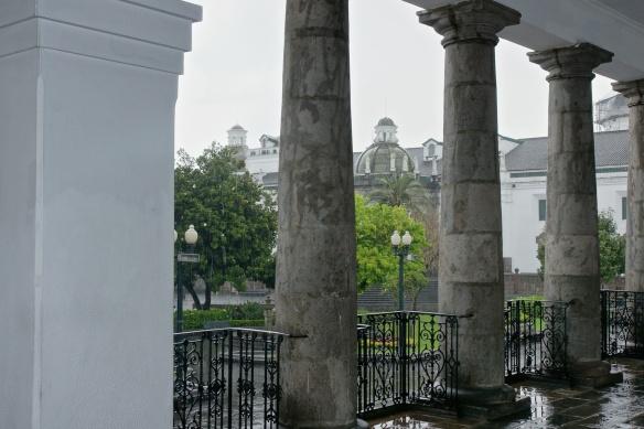 the Plaza Grande from the portico of el Palacio Gobierno
