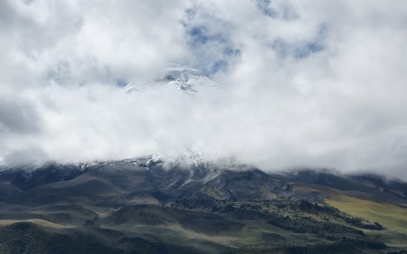 our first view of Cotopaxi!