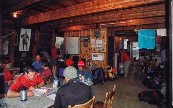 Conrad Kain Hut- plush Bugaboo base camp