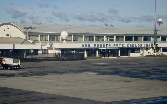 Punta Arenas Airport terminal