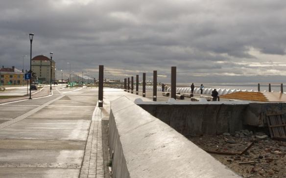 punta Arenas waterfront promenade