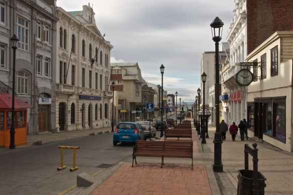 view of downtown Punta Arenas