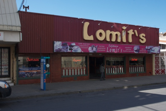 Lomit's - my choice for lunch in Punta Arenas