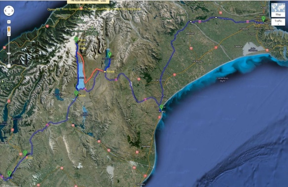 Option #2- Queenstown to Mt Cook To Christchurch