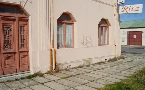 Punta Arenas Hotel Ritzi has seen better days