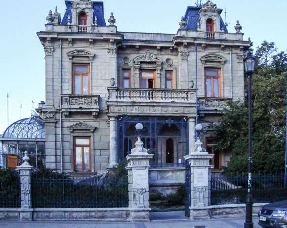 the Sara Braun Palacio/ Braun-Menendez Residence in Punta Arenas