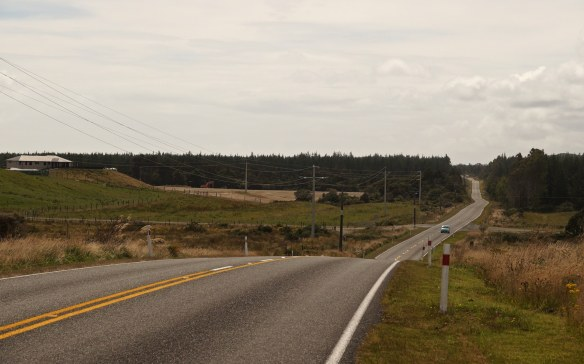 a stretch of road north of Ross on SH6