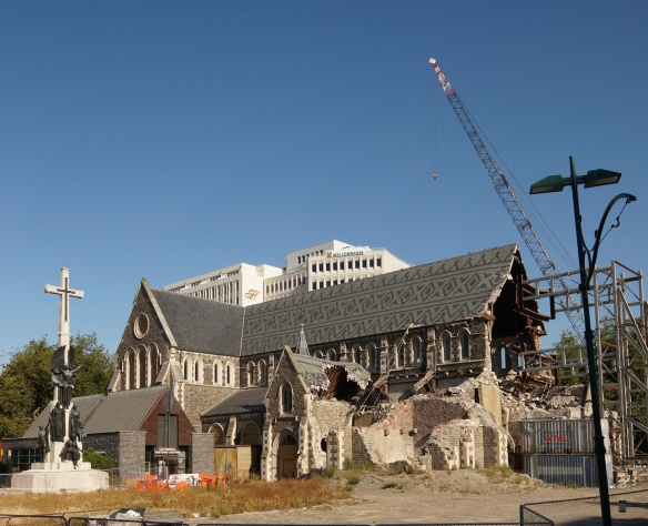 Christchurch Cathedral- two years on and still unclear about what to do