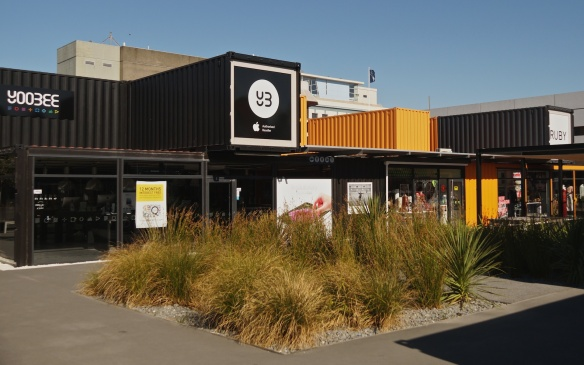 Re:START use of shipping containers Christchurch