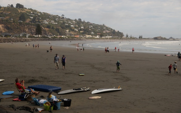 the view from the othere end of Sumner Beach