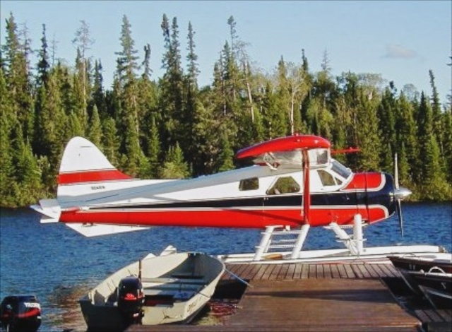 Dehavilland Beaver float plane -