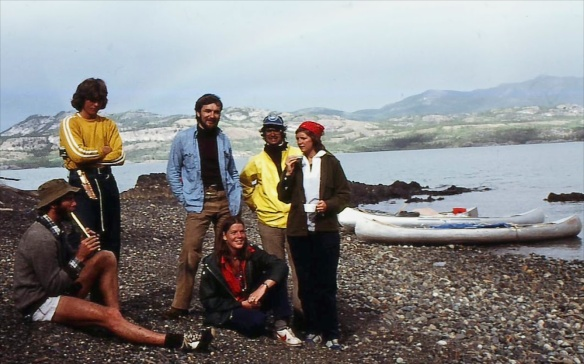 on the Yukon river in the summer of 1978 - my first great canoe trip!