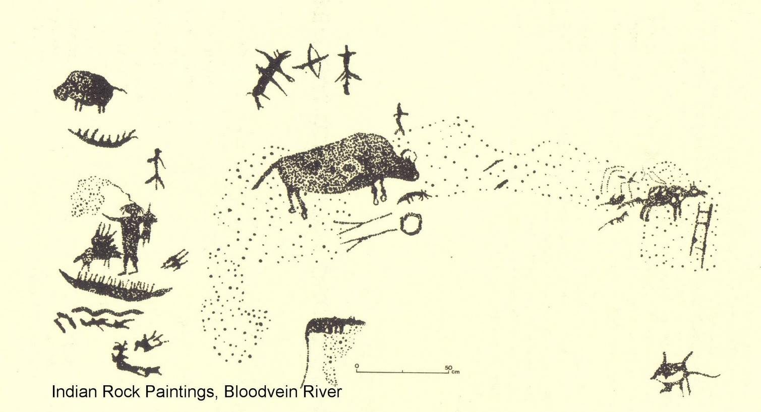 Anishinaabe Pictograph Sites In Ontario on Native American Symbols