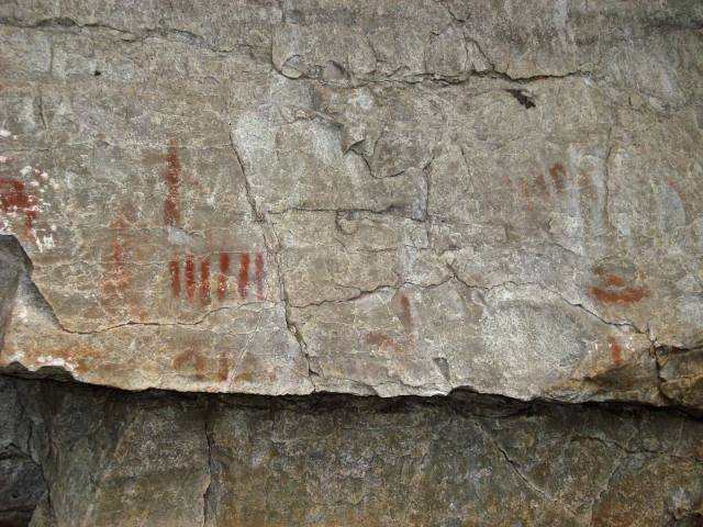more of the Diamond Lake Pictographs