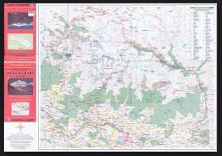 annapurna trekking map