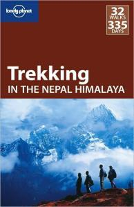 front cover of the  2009 edition of Trekking in the Nepal Himalaya