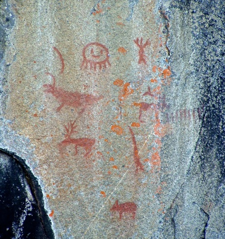 Lake Missinaibi_Pictographs -