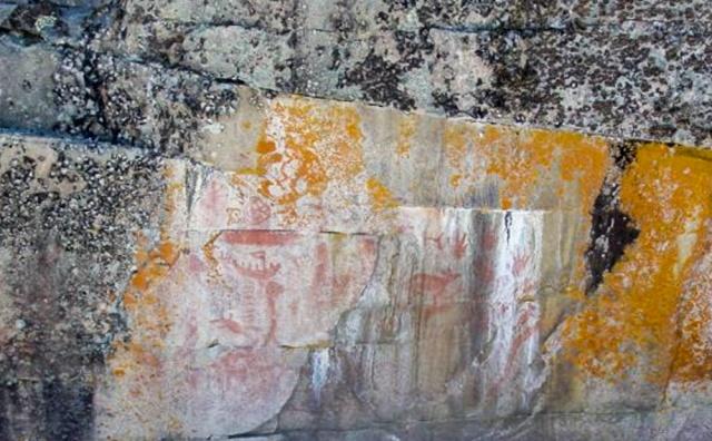 Hula-Girl Island Pictograph Site