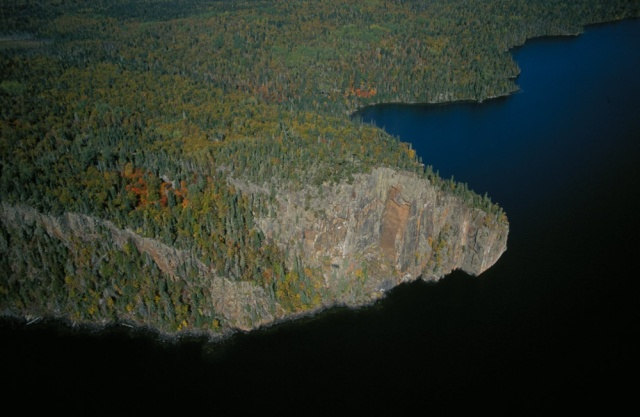 Lake Nipigon - West Bay - Echo Rock