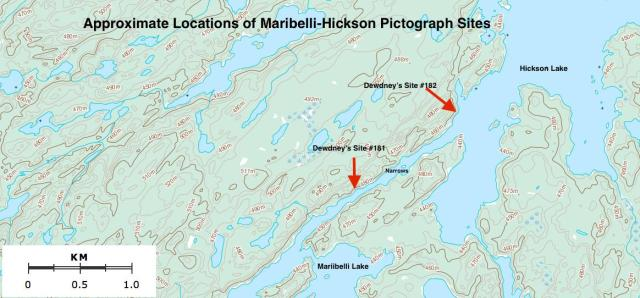 Maribelli-Hickson Pictograph Sites