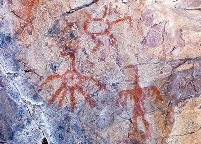 Wasawakasik Lake pictographs