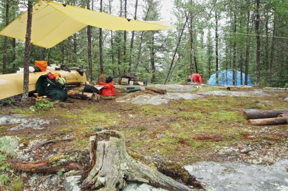 Auger Lake Campsite