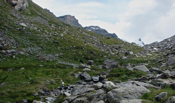 walkers on a trail above Zermatt.JPG