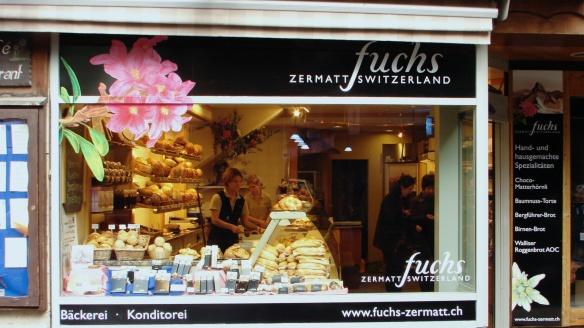 Fuchs - the sandwich shop on Bahnhofstrasse