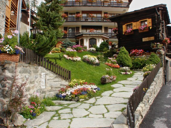 Hotel Romantica - another of Zermatt's many tourist hotels