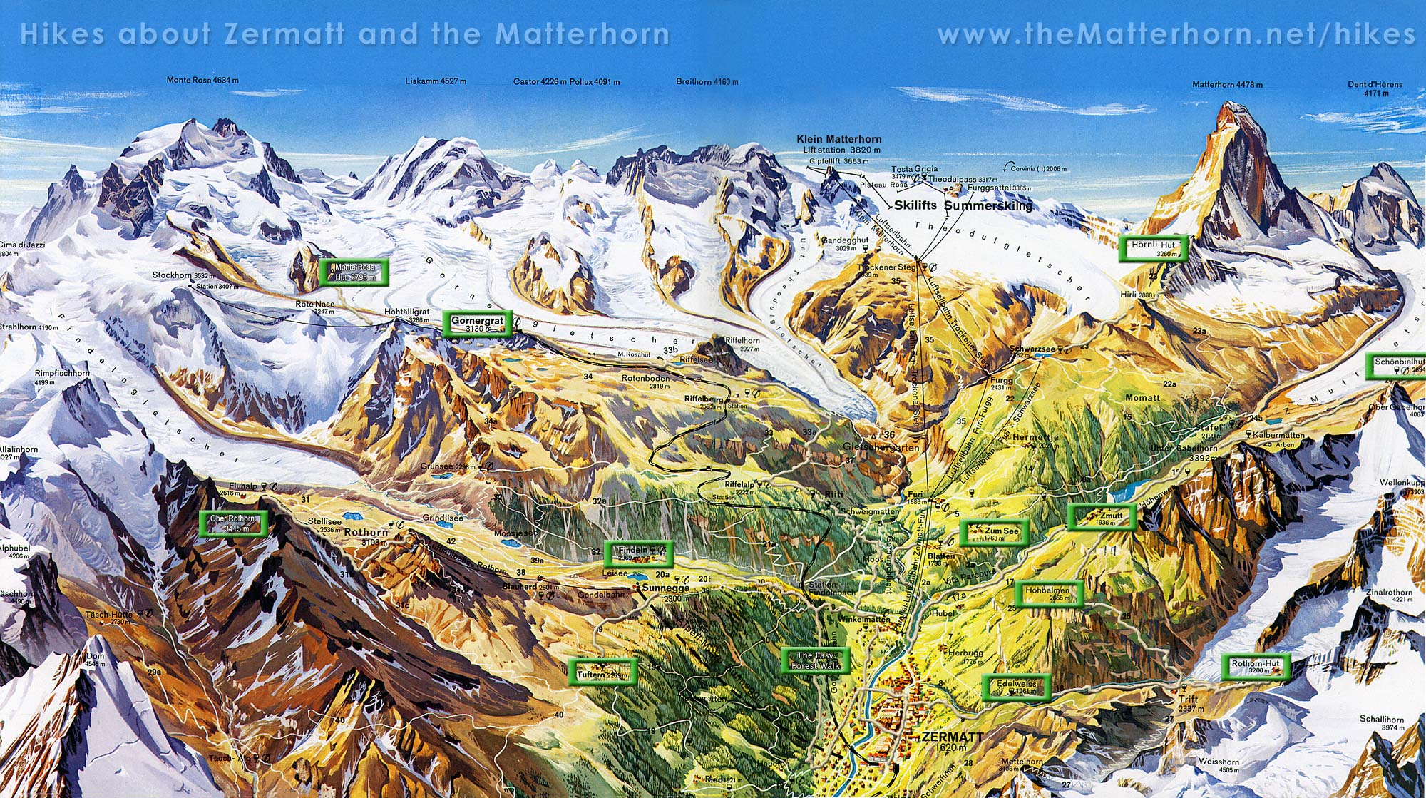 A Walk Across The Roof Of Europe The Monte Rosa Traverse Ramblin