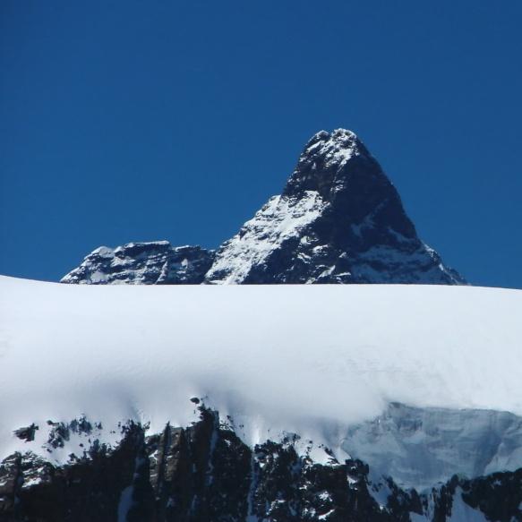 Matterhorn peak from Quintino Sella Hut