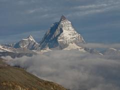 The Matterhorn from above the Gorner Glacier