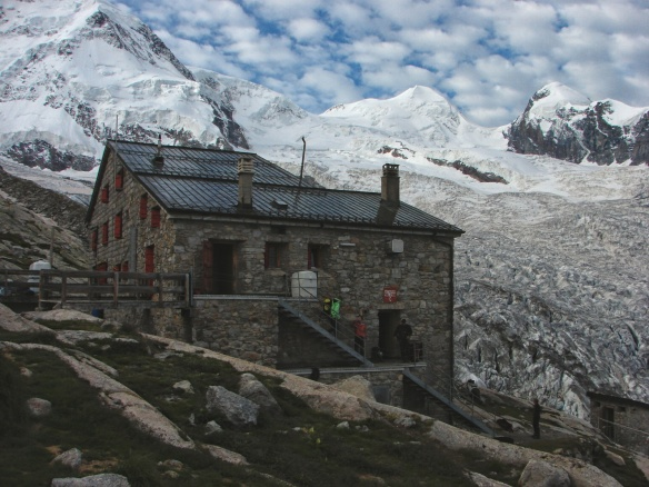 the Old Monte Rosa Hut