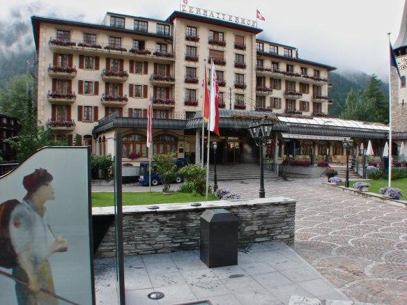 Zermatter Grand Hotel - a good address but a bit pricy!