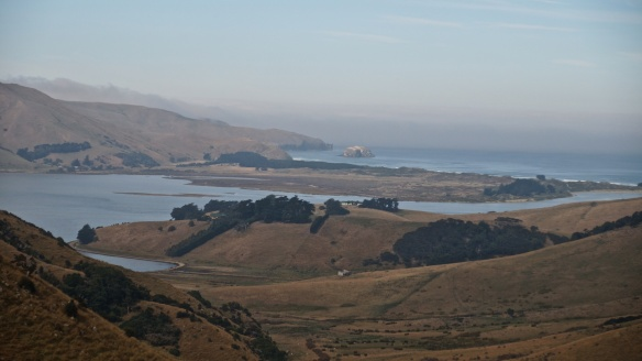 Hoopers Inlet from the Highcliff Road