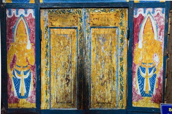 Dambulla Cave 1 cabinet door