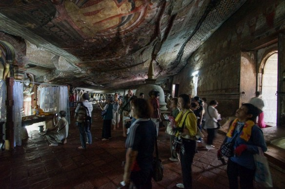 Dambulla Cave 3 entrance