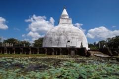 dagoba on the outskirts of Tissamaharama
