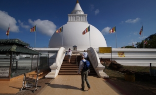 stupa at Kataragama