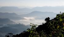 a dawn view from Sri Pada