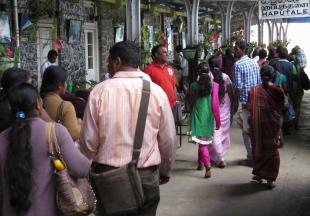 railway station arrivals