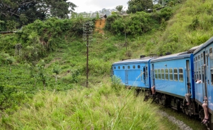 railway bend to Ella